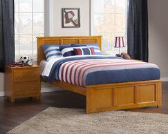 Marjorie Panel Bed Color: Espresso, Size: Queen