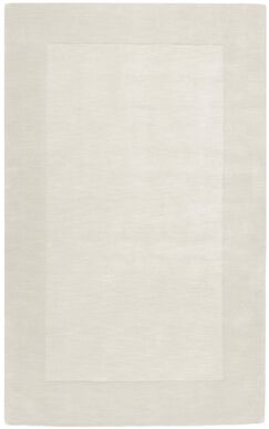Bradley Hand Woven Winter White Area Rug Rug Size: Rectangle 8' x 11'