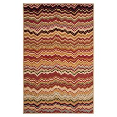 Tanner Red / Multi Rug Rug Size: Rectangle 2'6