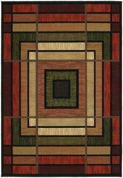 Ganley Terracotta Ambience Rug Rug Size: 7'10