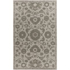 Red Spring Light Gray & Moss Area Rug Rug Size: Rectangle 4' x 6'