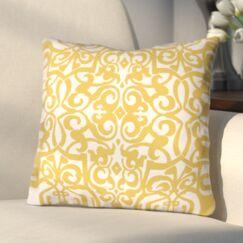 Bainbridge Printed Throw Pillow Size: 26