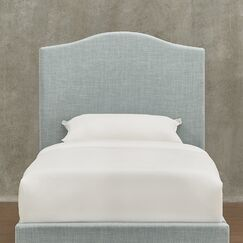 Winstead Upholstered Panel Headboard Upholstery: White, Size: Twin