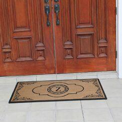 Abbot Bridge Monogrammed Doormat Letter: Z