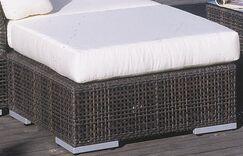 Soho Ottoman with Cushion Fabric: Gavin Mist