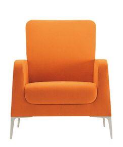 Hi Omega Lounge Chair Frame Finish: Powder Coat, Upholstery: Momentum Fuse Fabric Azurean