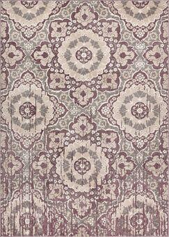 Draper Soft Vintage Lavender Area Rug Rug Size: 7'10