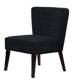 Kristopher Slipper Chair Upholstery: Black