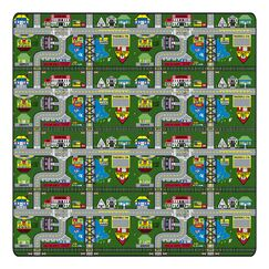 Educational Green Places To Go Area Rug Rug Size: Rectangle 6' x 12'