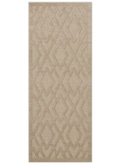 Dover Tufted Wool Linen Area Rug Rug Size: Runner 2'6