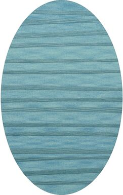 Dover Peacock Area Rug Rug Size: Oval 12' x 18'