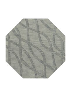 Dover Tufted Wool Sea Glass Area Rug Rug Size: Octagon 6'