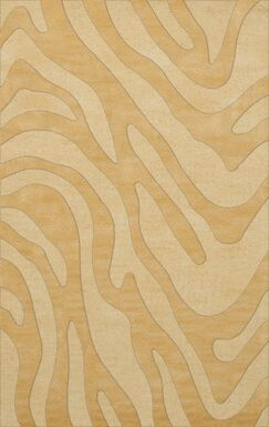 Dover Tufted Wool Lemon Ice Area Rug Rug Size: Rectangle 4' x 6'