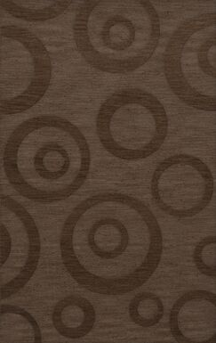 Dover Tufted Wool Mocha Area Rug Rug Size: Rectangle 4' x 6'