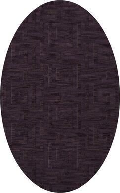 Dover Grape Ice Area Rug Rug Size: Oval 10' x 14'
