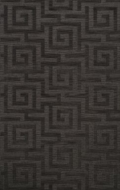 Dover Tufted Wool Ash Area Rug Rug Size: Rectangle 8' x 10'