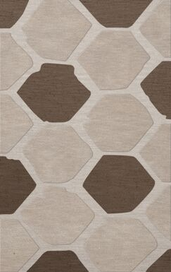 Dunson Wool Croissant Area Rug Rug Size: Rectangle 9' x 12'