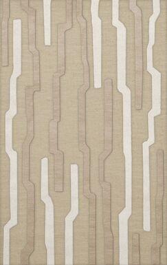 Hartsdale Wool Chopstick Area Rug Rug Size: Rectangle 5' x 8'