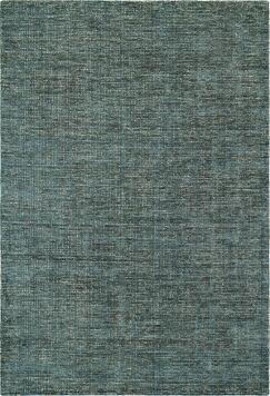 Toro Hand-Loomed Teal Area Rug Rug Size: Rectangle 9' x 13'