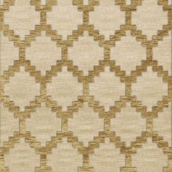 Bella Machine Woven Wool Beige Area Rug Rug Size: Square 12'