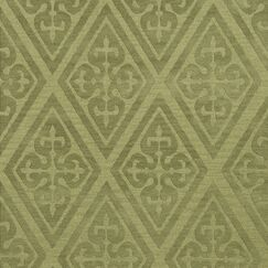 Bella Machine Woven Wool Green Area Rug Rug Size: Square 12'