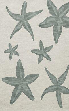 Bella Machine Woven Wool Gray Area Rug Rug Size: Rectangle 8' x 10'