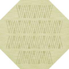 Bella Machine Woven Wool Beige Area Rug Rug Size: Octagon 4'
