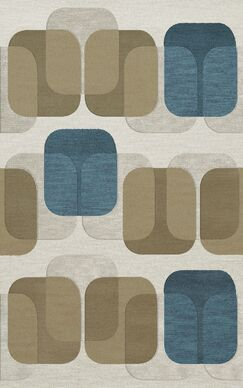 Bella Machine Woven Wool Gray/Brown Area Rug Rug Size: Rectangle 10' x 14'