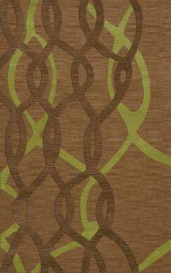 Bella Machine Woven Wool Brown Area Rug Rug Size: Rectangle 10' x 14'