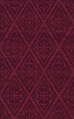 Bella Machine Woven Wool Red Area Rug Rug Size: Rectangle 12' x 18'