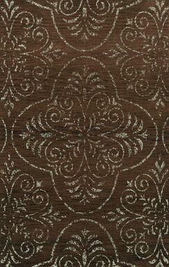 Elkton Brown Area Rug Rug Size: Square 4'