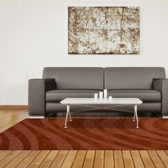 Dover Spice Area Rug Rug Size: Round 6'