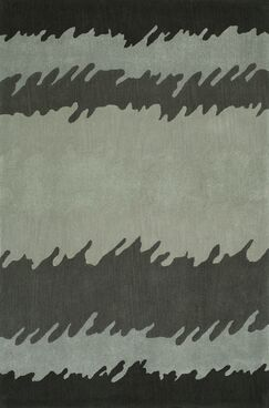 Gorham Hand-Woven Tin Area Rug Rug Size: Rectangle 3'6