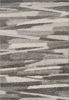 Sammie Shag Charcoal Area Rug Rug Size: Rectangle 5'1