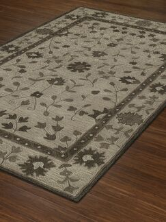 Derrik Hand-Tufted Walnut Area Rug Rug Size: Rectangle 9' x 13'