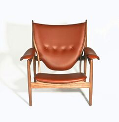 Sterling Armchair Upholstery: Brown