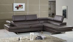 Fila Sectional Upholstery: Brown