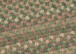 Gloucester Cabana Braided Green Area Rug Rug Size: Rectangle 10' x 13'