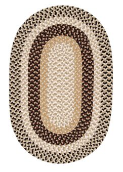Burmingham Neutral Tone Indoor/Outdoor Area Rug Rug Size: Round 4'
