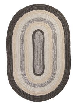Brooklyn Slate Braided Indoor/Outdoor Area Rug Rug Size: Rectangle 5' x 8'