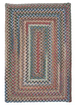 Gloucester Dusk Braided Red Area Rug Rug Size: Rectangle 5' x 8'