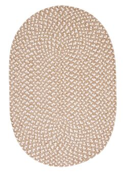 Boice Natural Area Rug Rug Size: Oval 2' x 3'