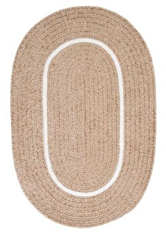 Silhouette Neutral Indoor/Outdoor Area Rug Rug Size: Oval Runner 2' x 10'