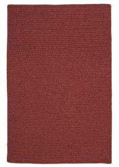 Westminster Rosewood Area Rug Fringe: Included, Rug Size: Rectangle 5' x 8'