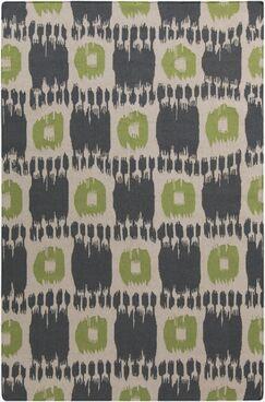 Crisler Grey Area Rug Rug Size: Rectangle 3'6