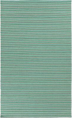 Walton Hand-Woven Aqua Area Rug Rug Size: Rectangle 5' x 8'
