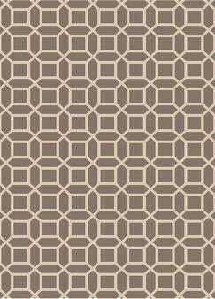 Brock Brown Geometric Area Rug Rug Size: Rectangle 9' x 13'