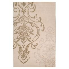 Gardiner Modern Classics Ivory/Beige Area Rug Rug Size: Rectangle 9' x 13'