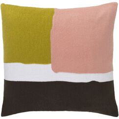 Greenway 100% Cotton Throw Pillow Cover Size: 22