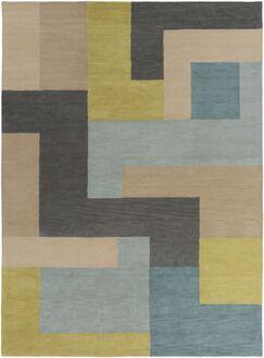 Sturbridge Midnight Green/Slate Gray Rug Rug Size: Rectangle 3'3